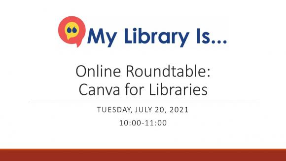 Canva for Libraries.