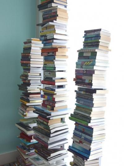Book tower.