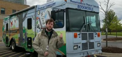 Fountaindale Public Library Bookmobile.