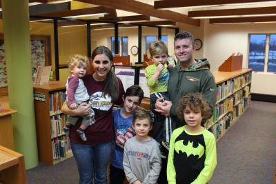 Pictured is Sarah and Neal Fuchs and their five sons who just came out of a BPLD program.