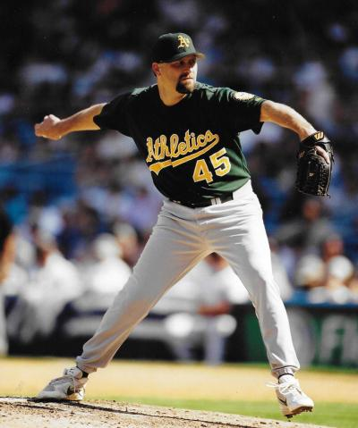 Former MLB pitcher Jim Mecir came to Schaumburg Library when he needed help getting his new business off the ground.