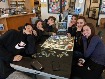 Makerspace puzzle week
