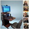 Zoom cart and attorneys who volunteer for the Divorce and Family Law Help Call-in Service