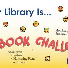 My Library Is... Facebook Challenge.