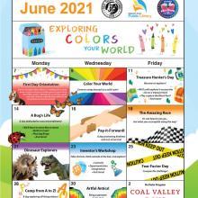Park Program June Calendar of Events