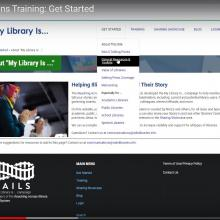My Library Is... Champions training videos